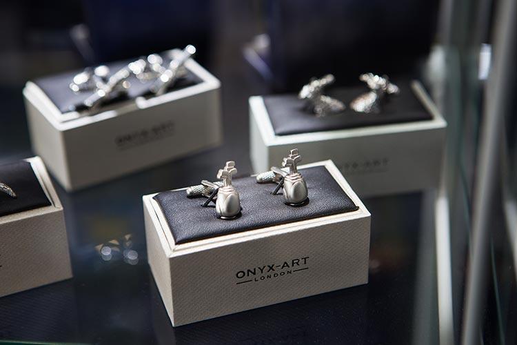 Nessieland-Countryfayre-Onyx-Art-Cufflinks